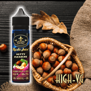 NUTTY PLEASURE High-VG 50ml Shortfill* Nikotinments E-liquid
