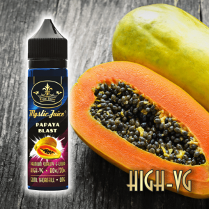 PAPAYA BLAST High-VG 50ml Shortfill* Nikotinmentes E-liquid