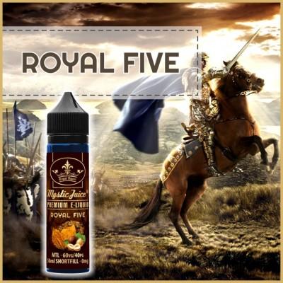 Royal Five MTL 50ml Shortfill* Nikotinmentes E-liquid