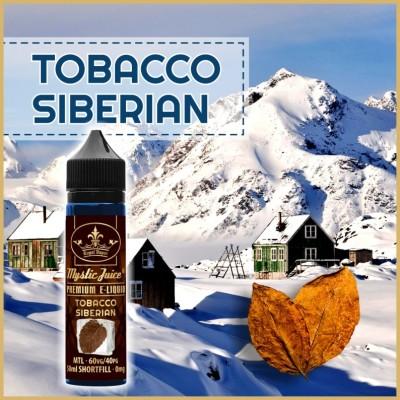 Tobacco Siberian MTL 50ml Shortfill* Nikotinmentes E-liquid