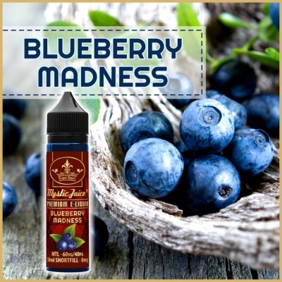 Blueberry Madness MTL 50ml Shortfill* Nikotinmentes E-liquid