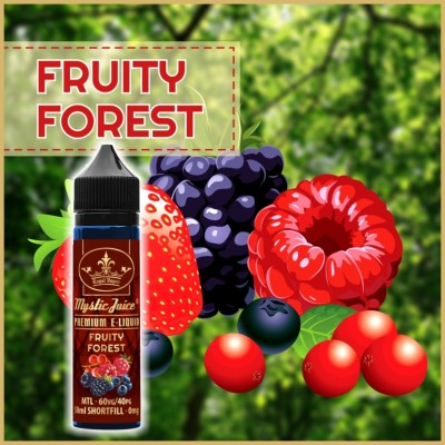 Fruity Forest MTL 50ml Shortfill* Nikotinmentes E-liquid