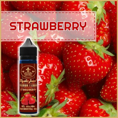 Strawberry MTL 50ml Shortfill* Nikotinmentes E-liquid