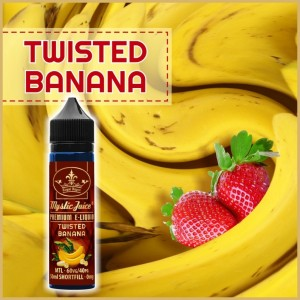 Twisted Banana MTL 50ml Shortfill* Nikotinmentes E-liquid