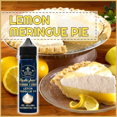 Lemon Meringue Pie MTL 50ml Shortfill* Nikotinmentes E-liquid