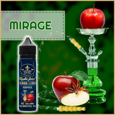 Mirage MTL 50ml Shortfill* Nikotinmentes E-liquid