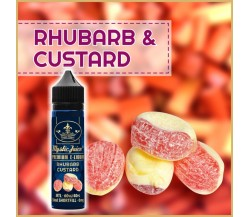 Rhubarb & Custard MTL 50ml Shortfill* Nikotinmentes E-liquid