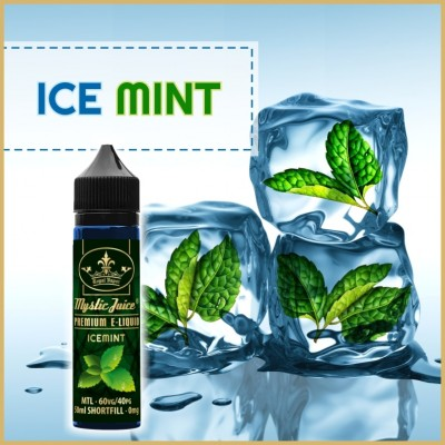 Icemint 50ml Shortfill* Nikotinmentes E-liquid