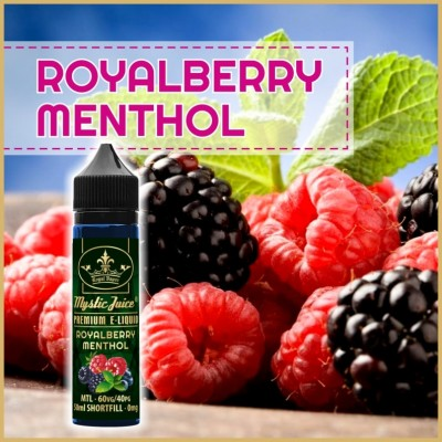 Royalberry Menthol 50ml Shortfill* Nikotinmentes E-liquid