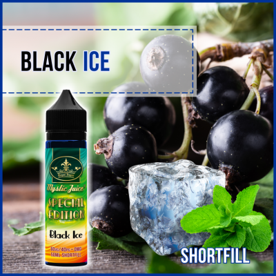 Black Ice 50ml Shortfill* Nikotinmentes E-liquid
