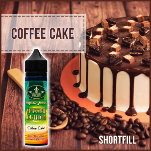 Coffee Cake 50ml Shortfill* Nikotinmentes E-liquid