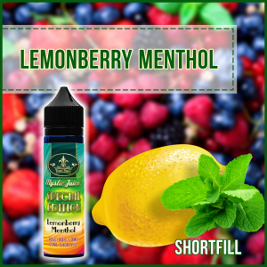 Lemonberry Menthol 50ml Shortfill* Nikotinmentes E-liquid